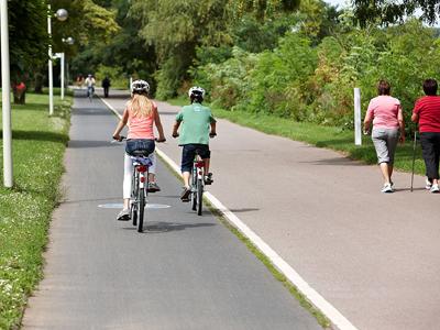 V. Unterwegs mit dem Fahrrad