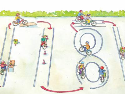 Fahrradparcours