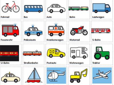 Verkehrsmittel-Bingo