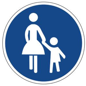 Mobil Teilhaben Verkehrserziehung Geistige Behinderung Grundlagen Unvorhergesehene Zwischenfaelle Vz Gehweg
