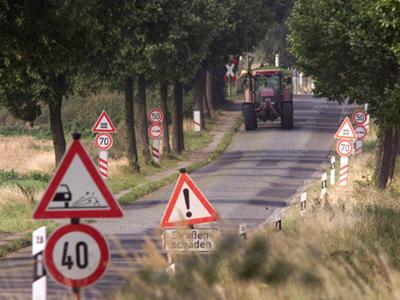 Verkehrsgeräusche wahrnehmen und erkennen