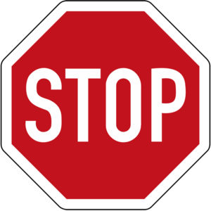 Mobil Teilhaben Verkehrszeichen Stopp