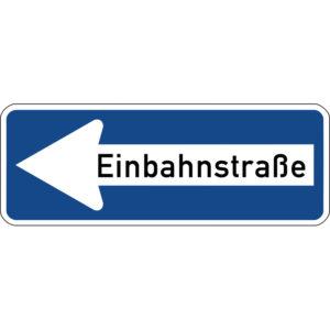 Mobil Teilhaben Verkehrszeicheneinbahnstrasse
