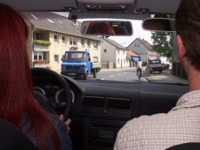 Anmeldung zur Führerscheinprüfung