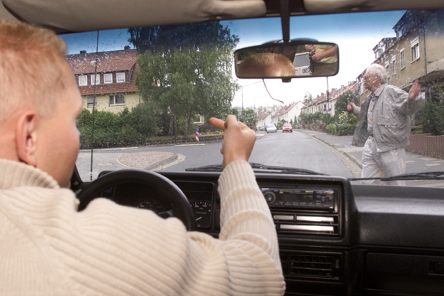 Mobilitaet Junge Fahrer Soziale Interaktion Aggression Sekundarstufe Ii Verkehrserziehung Mobilitätsbildung