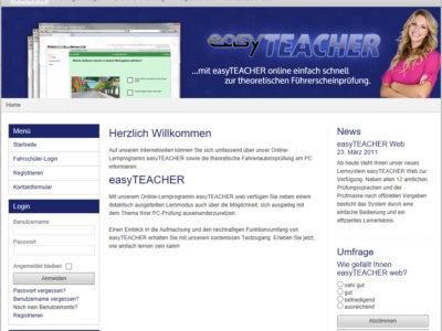 "Das Online-Lernprogramm ""easyTEACHER"""