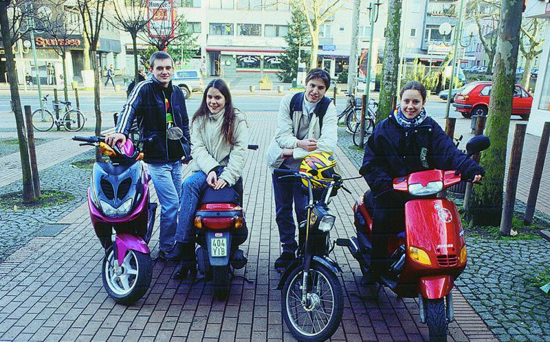 Mofakurs Mofa Fahren Sekundarstufe Sek.i Jugendlich Verkehrserziehung Mobilitaetsbildung Mobilitaet Motorisiert Ag Arbeitsgemeinschaft