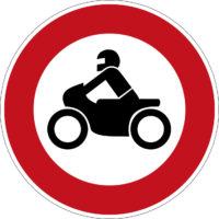 Mofakurs Verkehrszeichen 255 Verbot Fuer Kraftraeder