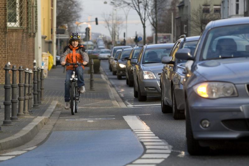 Peer Projekt Schuelermentoren Mobilitaet Radfahren Radfahrer Verkehr Sekundarstufe I Verkehrserziehung Mobilitaetsbildung