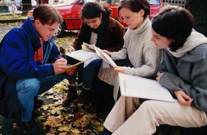 Peer Projekt Schuelermentoren Mobilitaet Radfahren Schulbusbegleiter Ganztag Soziales Lernen Verkehr Sekundarstufe I Verkehrserziehung Mobilitaetsbildung