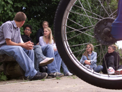 Peer Projekt Soziales Lernen Sozialkompetenz Mobilitaet Verkehr Sekundarstufe I Verkehrserziehung Mobilitaetsbildung