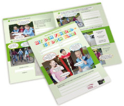Radfahrausbildung Übungsbogen Mit Dem Fahrrad Grundschule Klasse 4