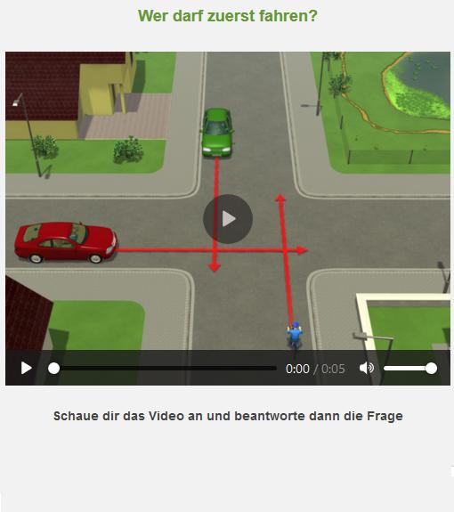 Radfahrausbildung Digitaler Testbogen Rechts Vor Links Grundschule Portal Klasse 4 Verzahnt Lernen 1