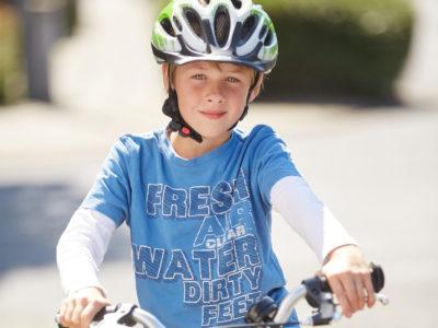 Fahrradhelm = Lebensretter