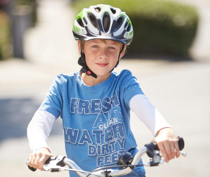 Radfahrausbildung Fahrradhelm Grundschule Klasse 4 Verkehrserziehung