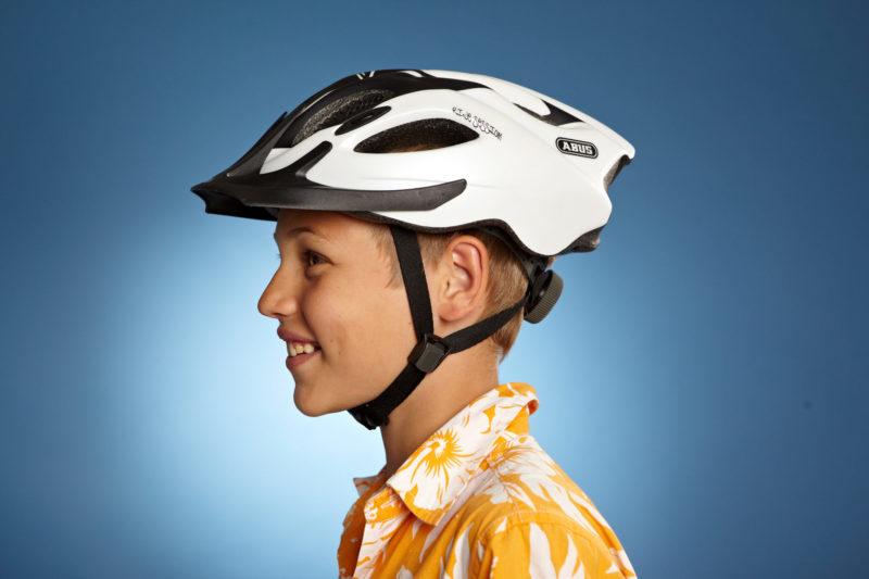 Radfahrausbildung Fahrradhelm Helm Einstellen Gurt Bildet Dreiech Grundschule Klasse 4 Verkehrserziehung