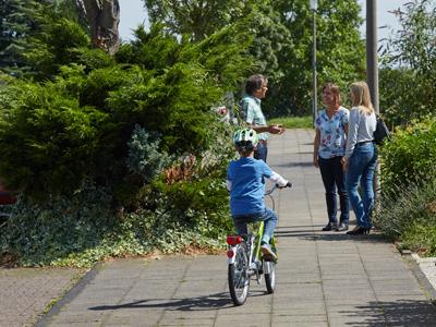 Radfahren lernen Kinder nicht über Nacht