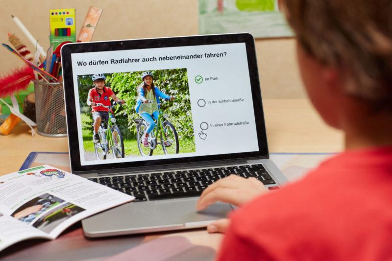 Radfahrausbildung Verkehrserziehung Grundschule Digitales Lernen Klasse 4 Theorie