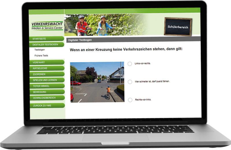 Radfahrausbildung Verzahnt Lernen Arbeitsheft Filme Vorfahrt Online Portal Digitaler Testbogen Grundschule Rechts Vor Links Straßenverkehr Verkehrserziehung