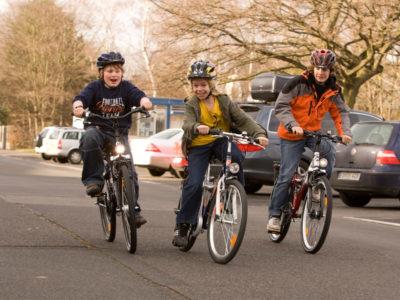 Radfahren Sekundarstufe Gender Mobilität Verkehrserziehung Risiko Straßenverkehr