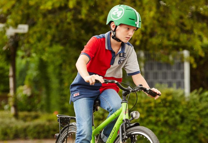 Radschulweg Fahrradhelm Schutz Gefahren Kopfschutz Sekundarstufe Verkehrserziehung Mobilitaetsbildung