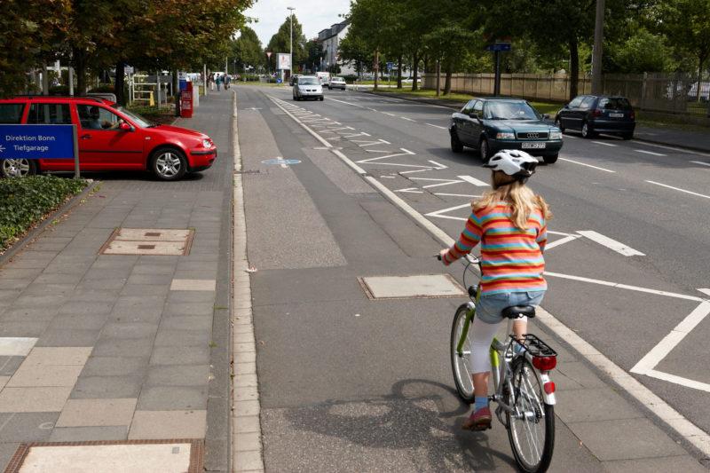 Radschulweg Linker Radweg Wege Gefahren Sekundarstufe Verkehrserziehung Mobilitaetsbildung