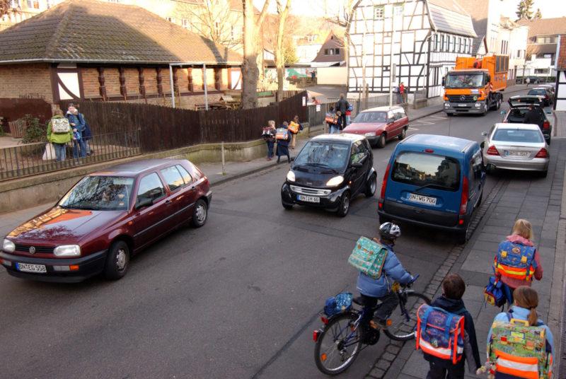 Radschulweg Neue Wege Mit Pkw Zur Schule Sekundarstufe Verkehrserziehung Mobilitaetsbildung