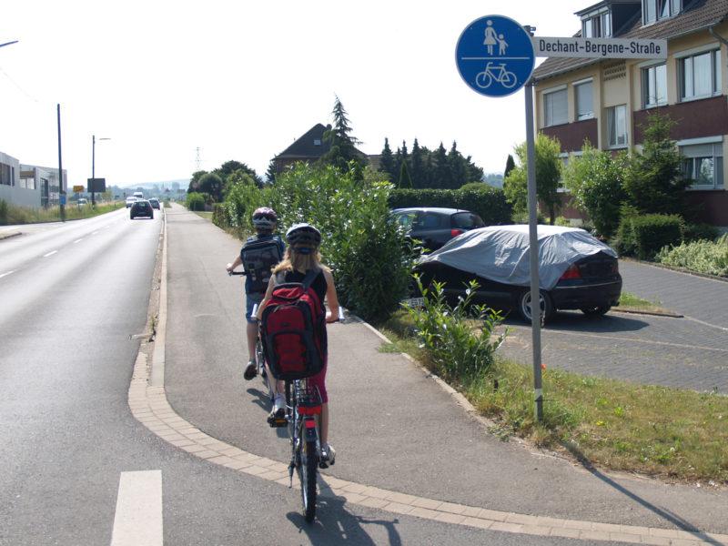 Radschulweg Neue Wege Radfahren Freizeit Radwege Gefahren Sekundarstufe Verkehrserziehung Mobilitaetsbildung