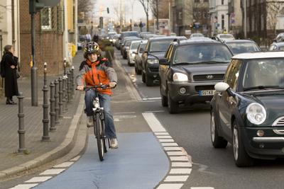 Radschulweg Neue Wege Radfahren Mit Rad Zur Schule Radwege Stadt Sekundarstufe Verkehrserziehung Mobilitaetsbildung