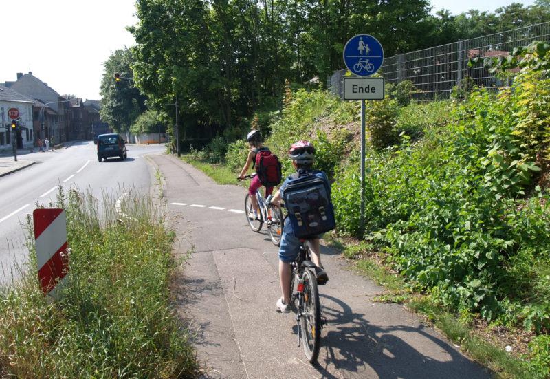 Radschulweg Neue Wege Radfahren Mit Rad Zur Schule Radwegende Sekundarstufe Verkehrserziehung Mobilitaetsbildung