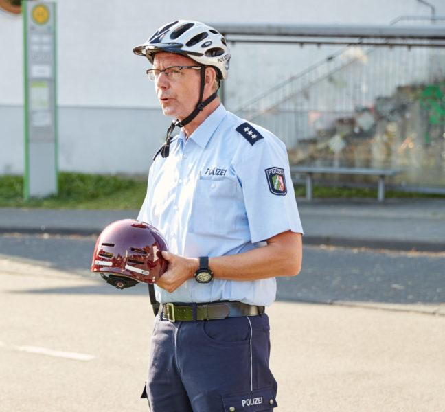 Radschulweg Neuer Schulweg Experten Polizei Sekundarstufe Verkehrserziehung Mobilitaetsbildung
