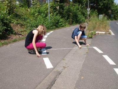 Projekt: Der neue Schulweg