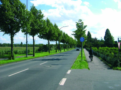 Radwege auf dem Land
