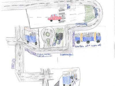 Schulweg mit Bus oder Bahn