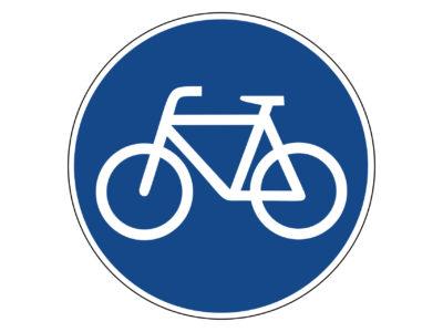 Wege für Radfahrer