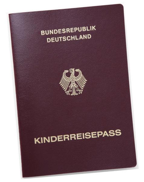 Reisen Mit Kindern Urlaub Reisedokument Kinderpass