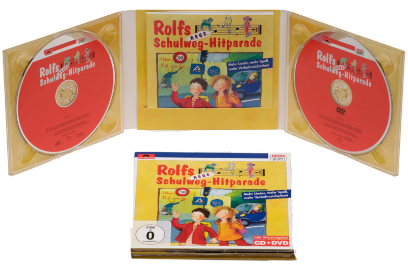 Rolfs Neue Schulweg Hitparade Cd Dvd Lieder Verkehrserziehung Kindergarten Hrundschule