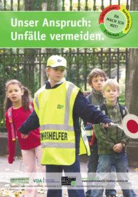Schülerlotsen Schülerlotsenmedien Poster Verkehrshelfer