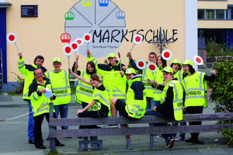 Schülerlotsen Verkehrshelfer Ausbildung Ausbildung Praxis Polizei