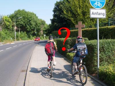Mit dem Rad zur Grundschule?