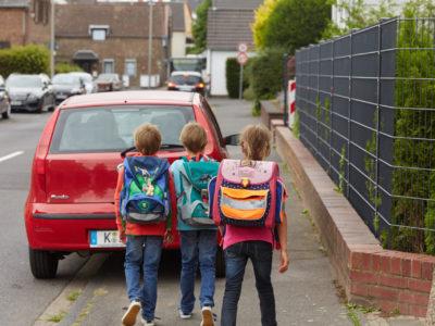 Schulweg: ungeeignet
