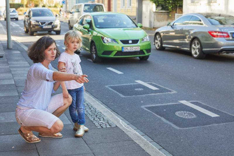 Schulweg Klasse 1 Schulwegwahl Verkehrserziehung Schulwegtraining