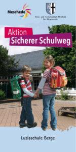 Schulweg Schulwegplan Meschede Luziaschule Berge