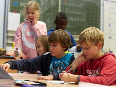 Schulweg im Unterricht