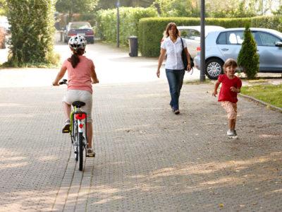 Kinder als Fußgänger