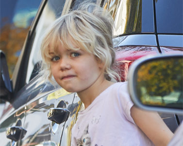 Straßenverkehr Kinder Sehen