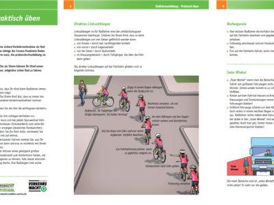 Radfahrausbildung: Elterntipps zum Üben