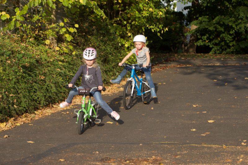 Verkehrserziehung Kindergarten Bewegung Bewegungsförderung Motorik Gleichgewicht