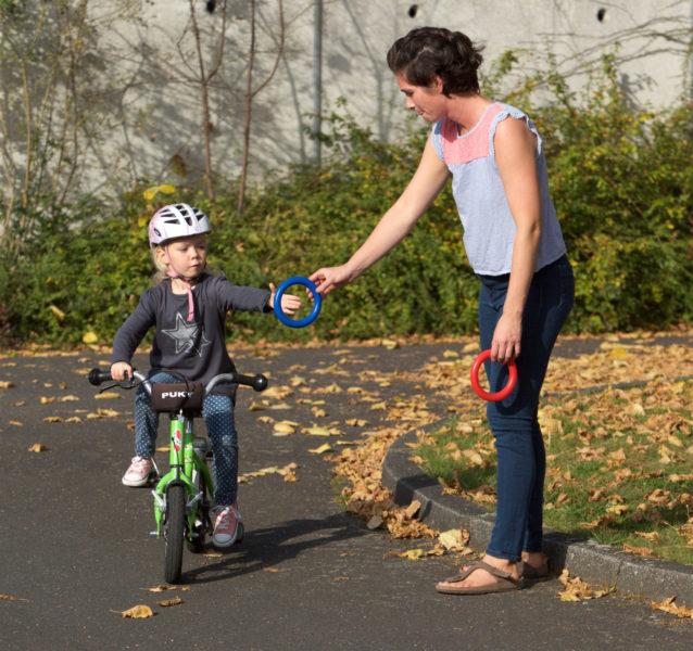 Verkehrserziehung Kindergarten Bewegung Bewegungsförderung Radfahren Motorik