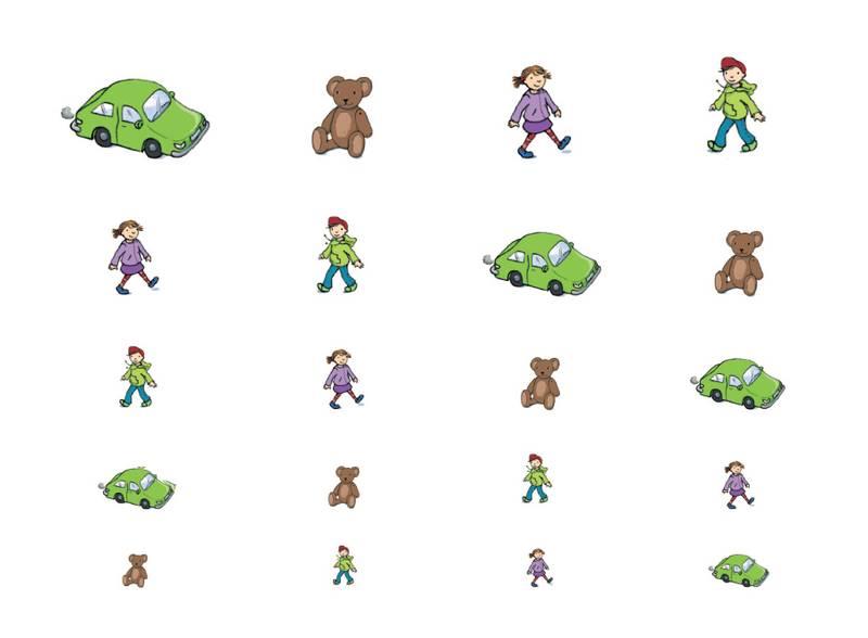 Verkehrserziehung Kindergarten Sehen Straßenverkehr Sehtest